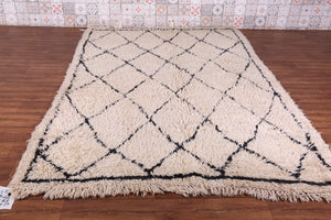 Authentic Beni ourain rug, 5.8ft x 8.8ft