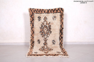 Beni ourain rug 2.9 FT X 5.6 FT