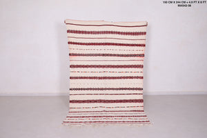 "Berber kilim, Handira, Wedding blanket, 4'9""x8"""