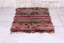 Small Colorful rug, 3.3 FT X 4.2 FT