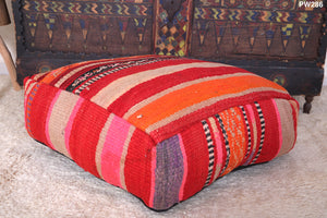 Pillows, Footstool, Berber cushion, Moroccan pouf, , Seating moroccan pillow
