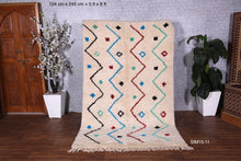 Beni ourain rug,  5 ft x 8 ft