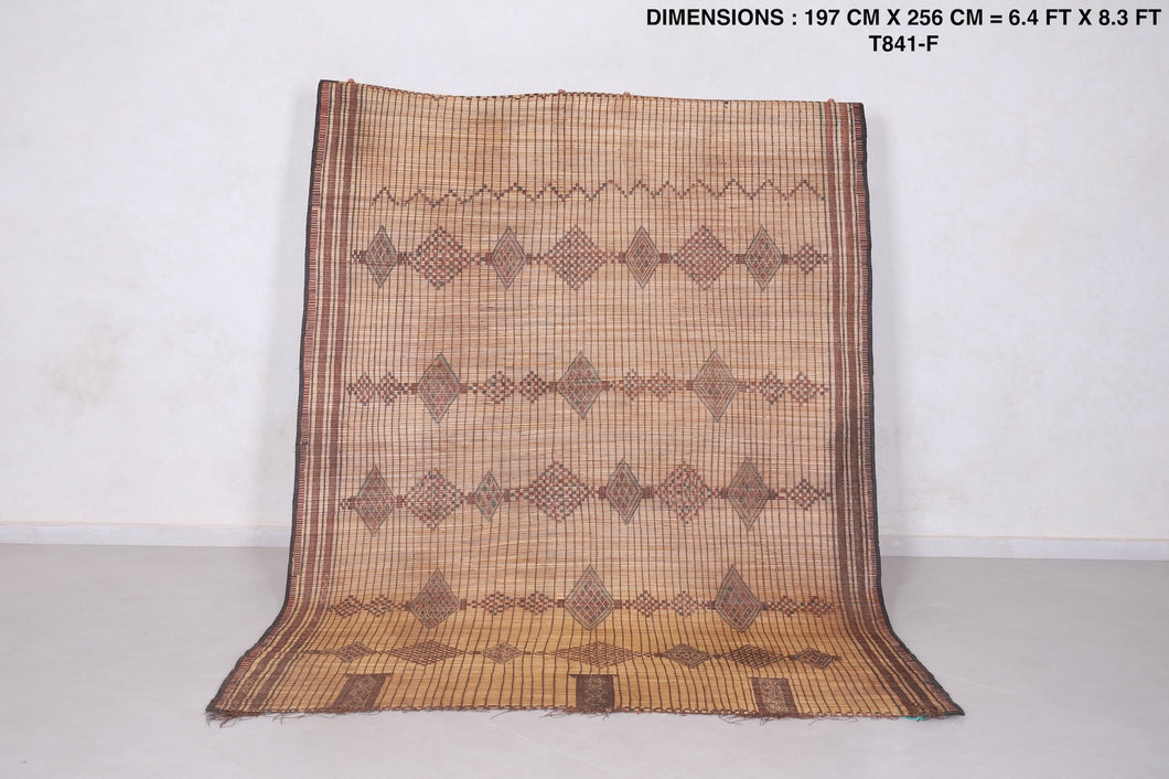 African Reed Rug (6.4 FT X 8.3 FT)