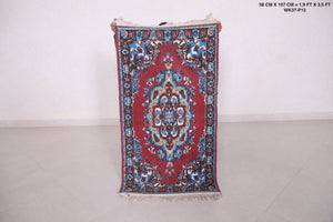 Small Moroccan rug, 1.9 FT X 3.5 FT