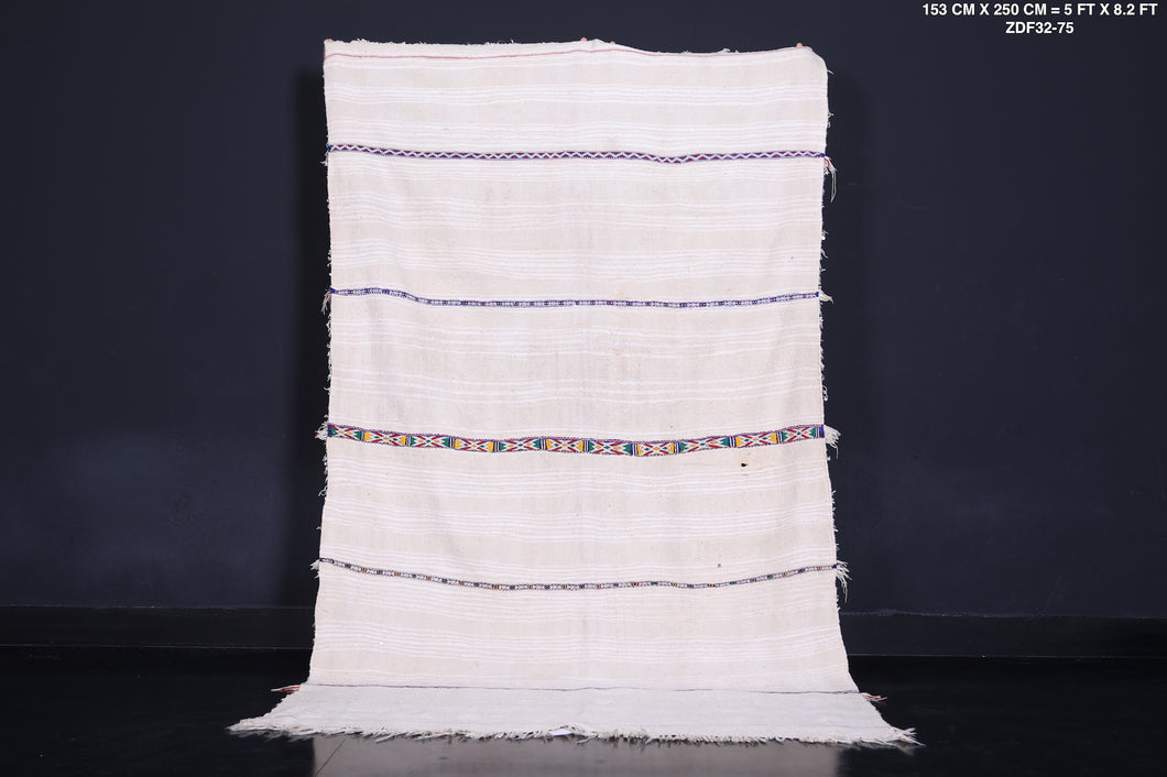 Berber wedding blanket, 5 FT X 8.2 FT