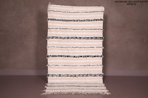 Moroccan wedding blanket 3.3 FT X 6.7 FT