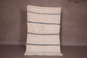 Vintage berber wedding blanket 3.4ft x 5.6ft