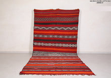Large Handwoven kilim, 6ft x 13.4ft