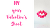 Valentine's Day DIY Photo Shoot Ideas