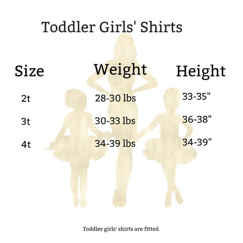 Toddler Girl's Size Chart