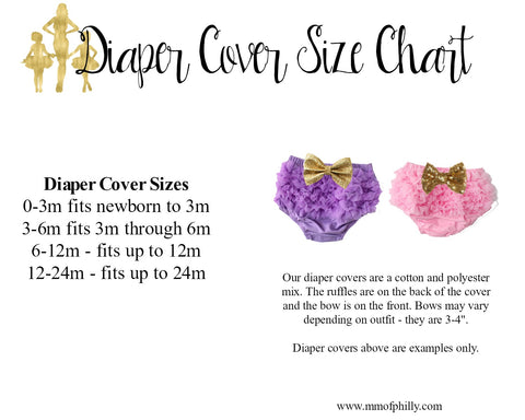 diaper cover size chart