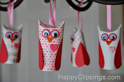 Valentine's Day Owls