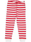 red and white stripes pajamas bottoms