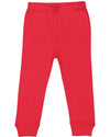 red pajama bottoms