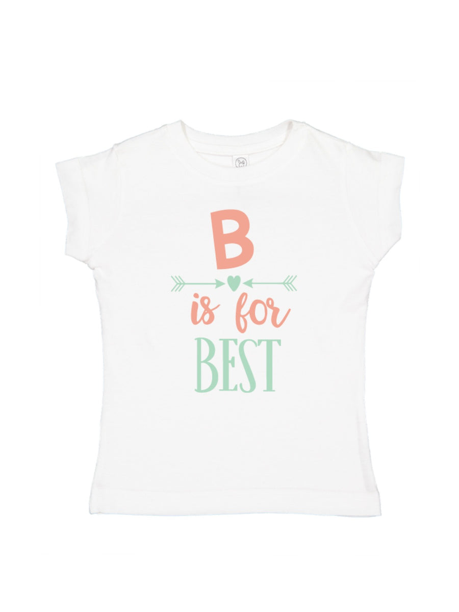 B is for Best Girls T-Shirt Matching Best Friends Shirt
