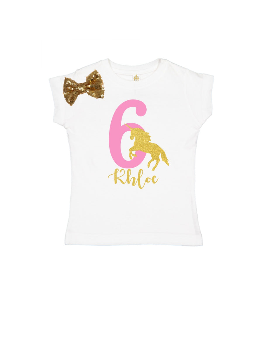 girls personalized unicorn tutu outfit