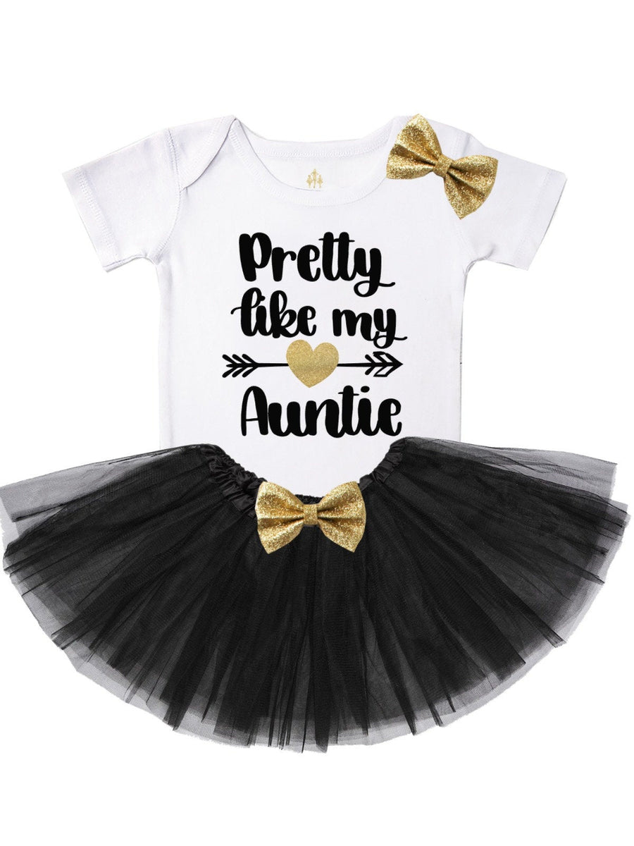 Pretty Like My Auntie Tutu Outfit