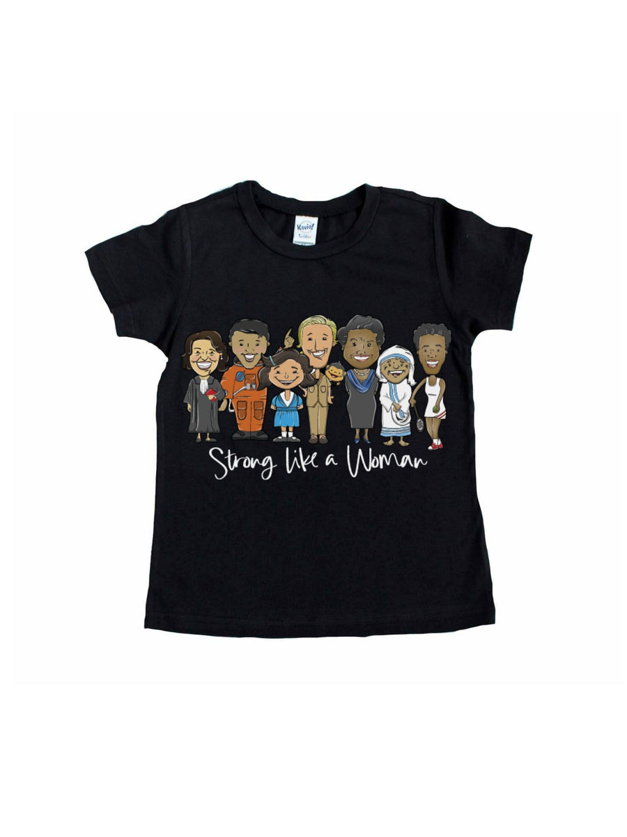 long sleeve kids women's history month shirt
