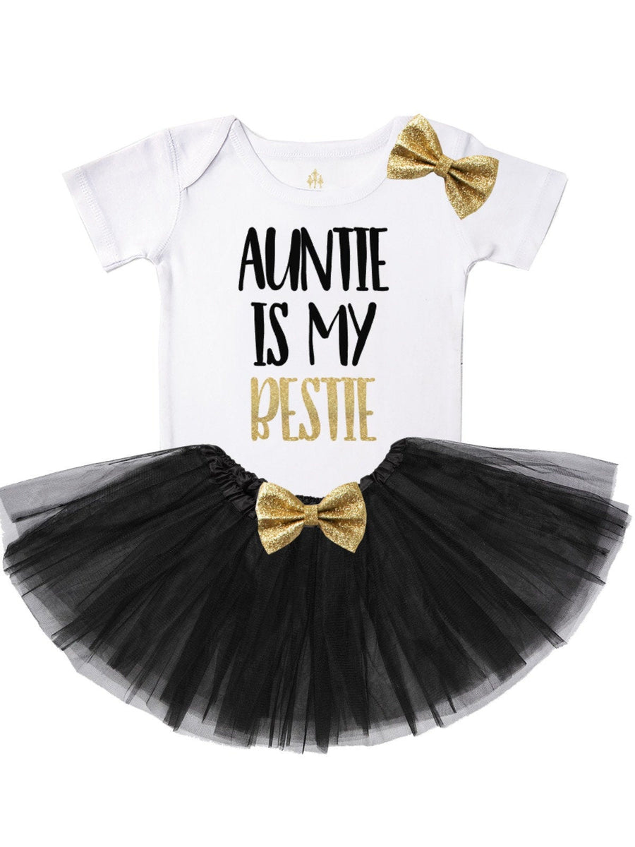 Auntie is My Bestie Tutu Outfit