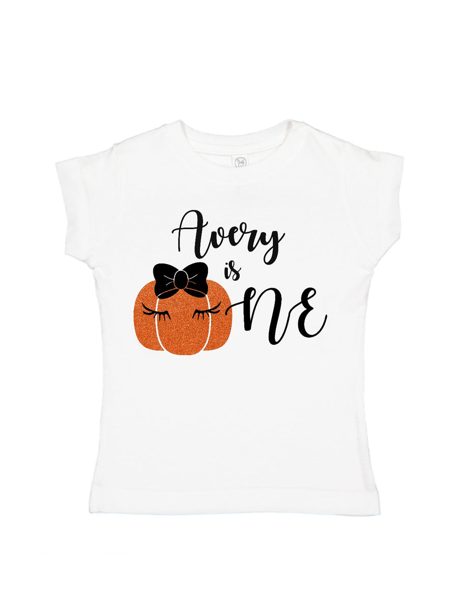 personalized first birthday pumpkin tutu outfit
