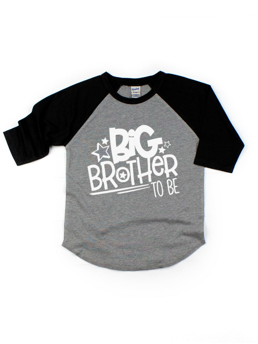 big brother to be pregnancy announcement kids shirt
