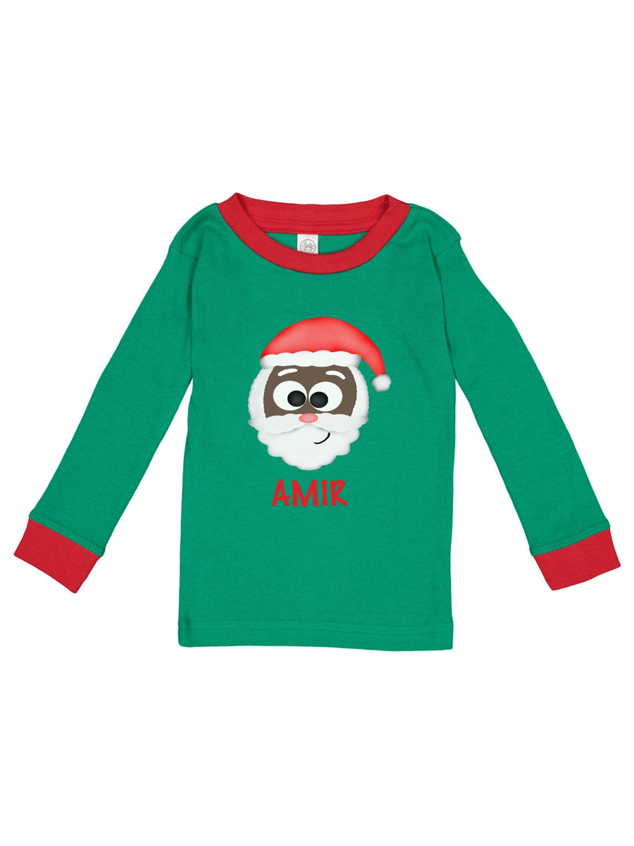Personalized Kid's Christmas Pajamas