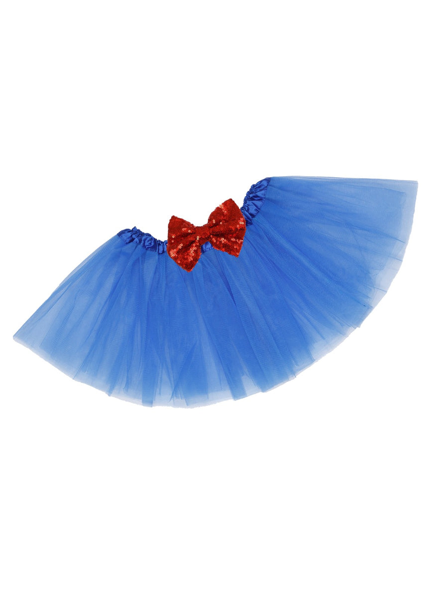 red and blue girls tutu
