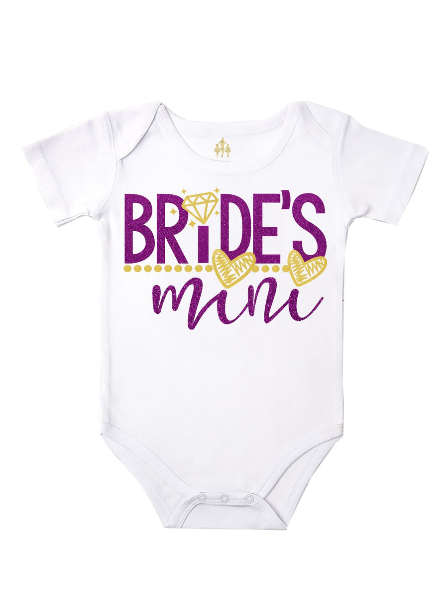 Bride's Mini Baby Bodysuit