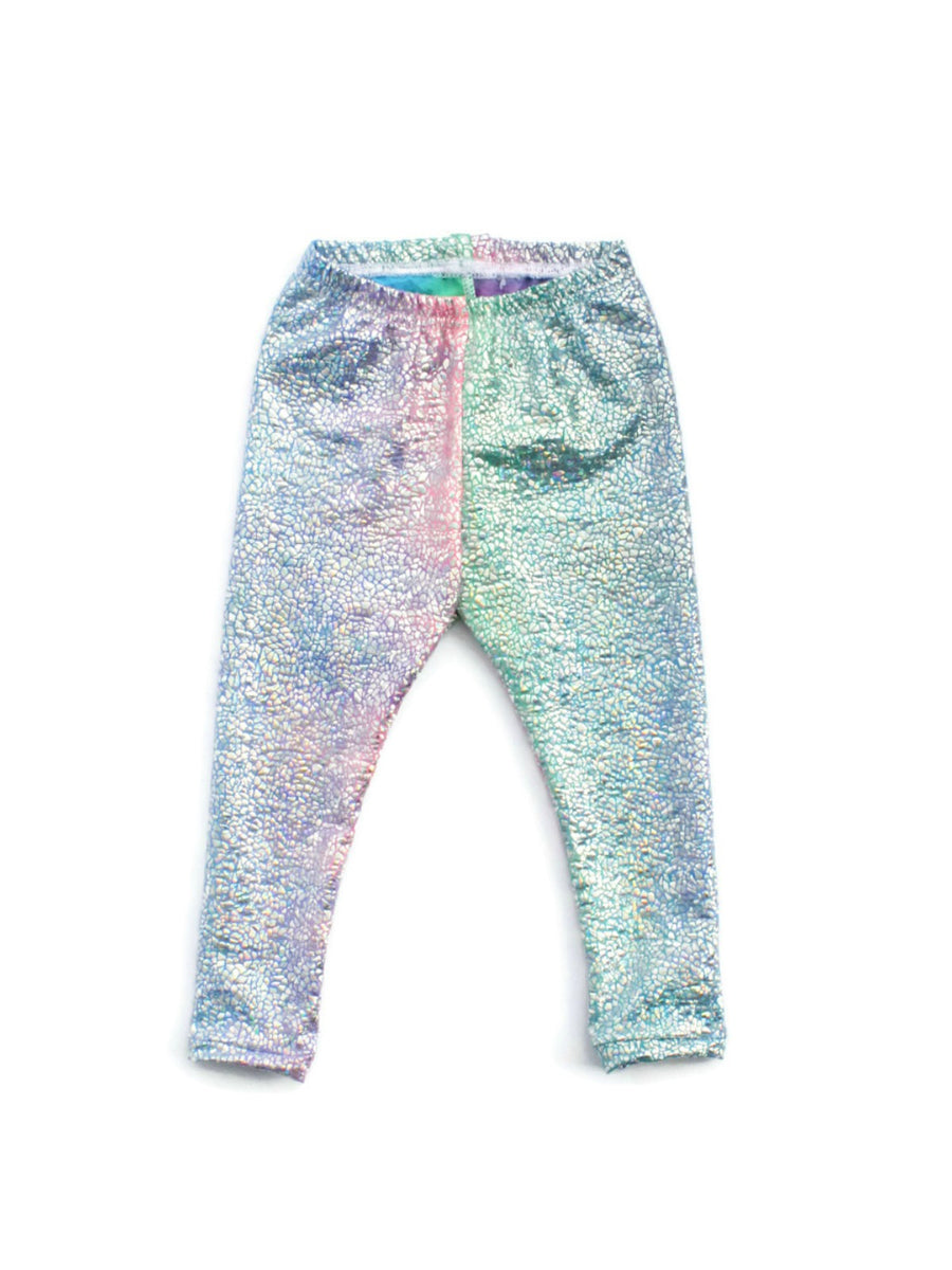 unicorn sparkle baby and toddler leggings
