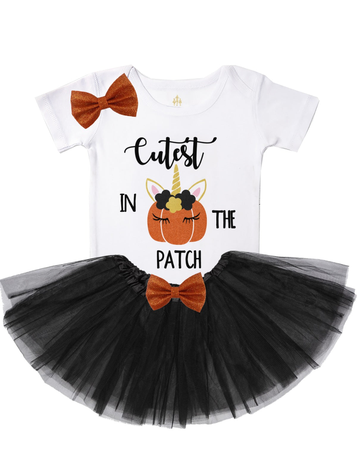 7ca5d3b0ed3b6 cutest pumpkin in the patch unicorn tutu outfit