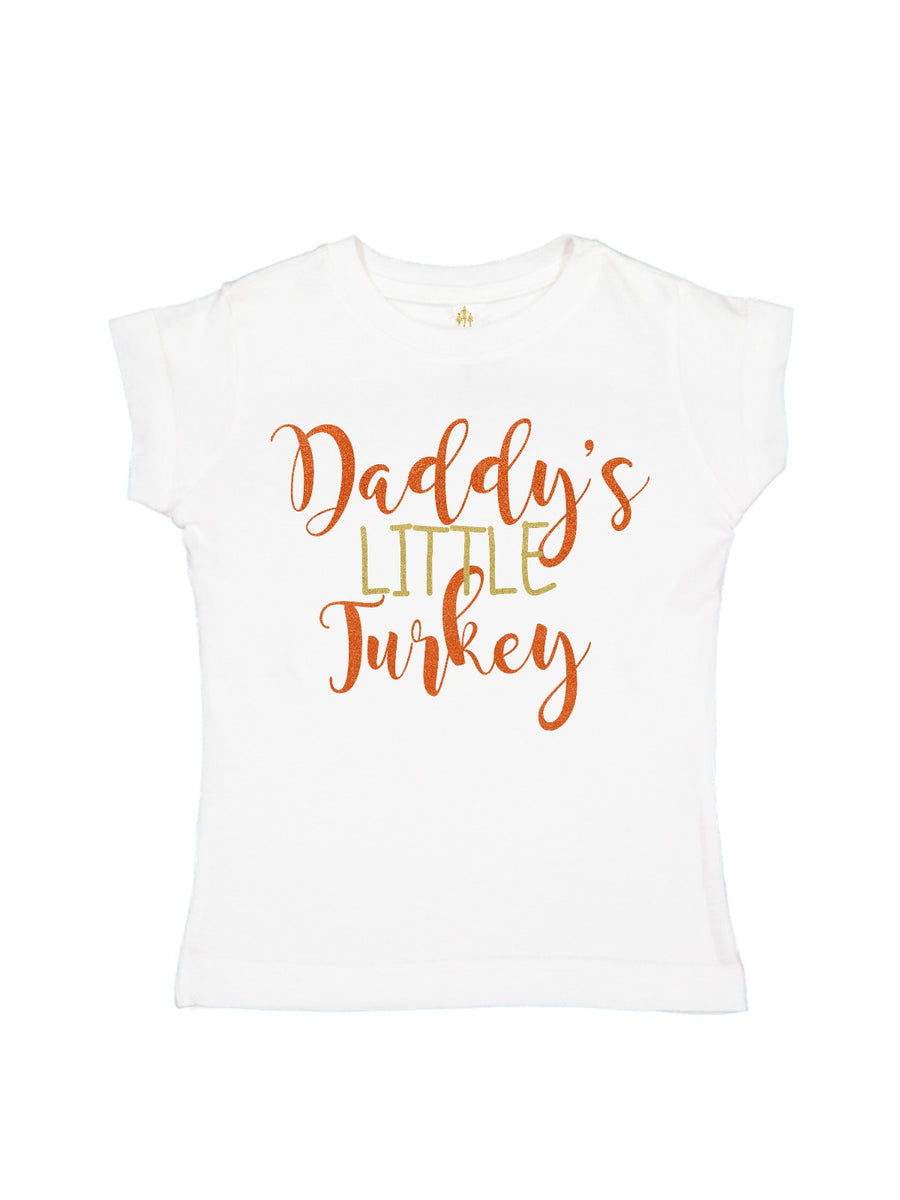 daddys little turkey girls tutu outfit