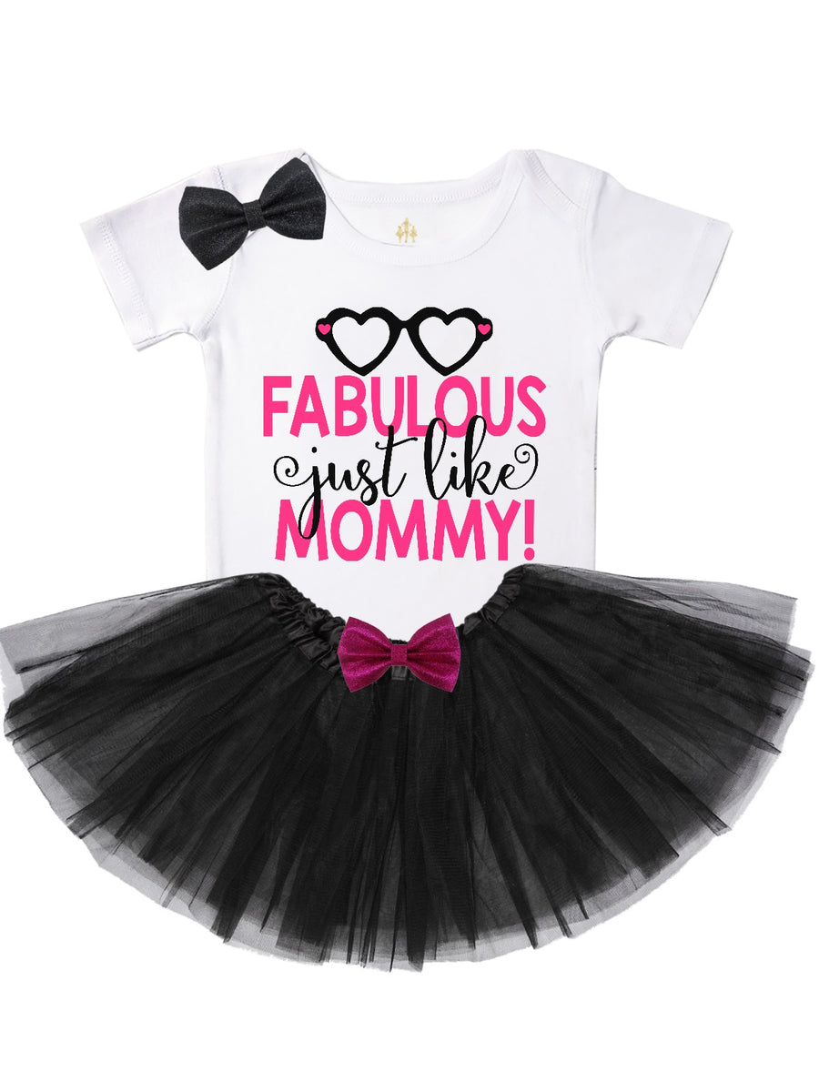 Fabulous Just Like Mommy - Tutu Outfit