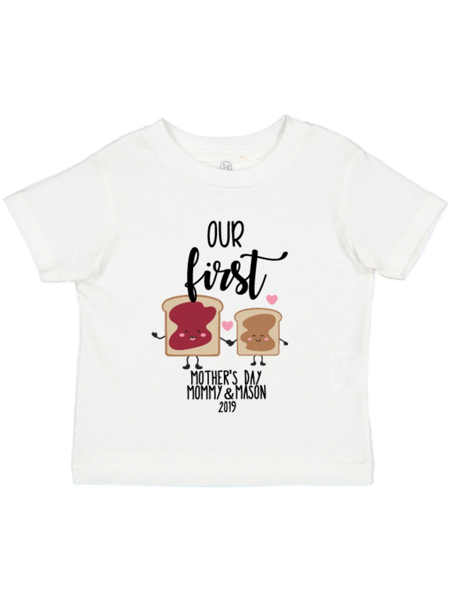Our First Mother's Day PB&J Bodysuit & Tee