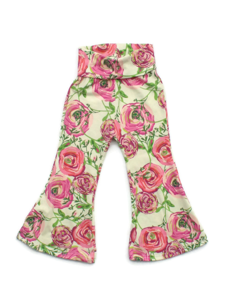 Bell Bottoms - Floral