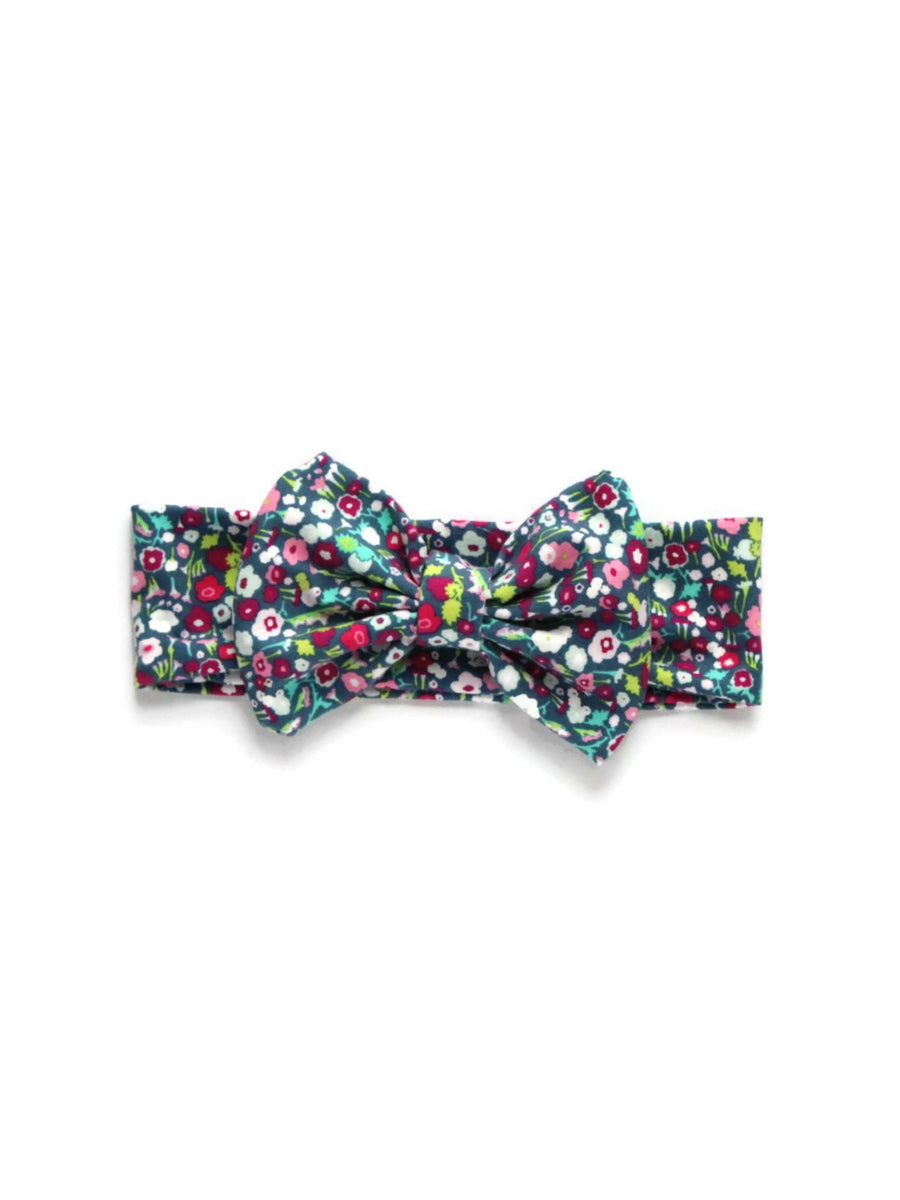 Bow Headband - Flower Power