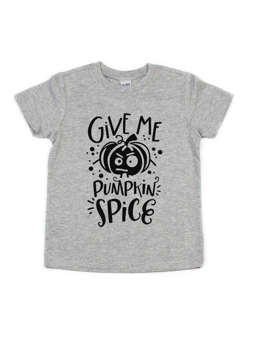 give me pumpkin spice kids shirt