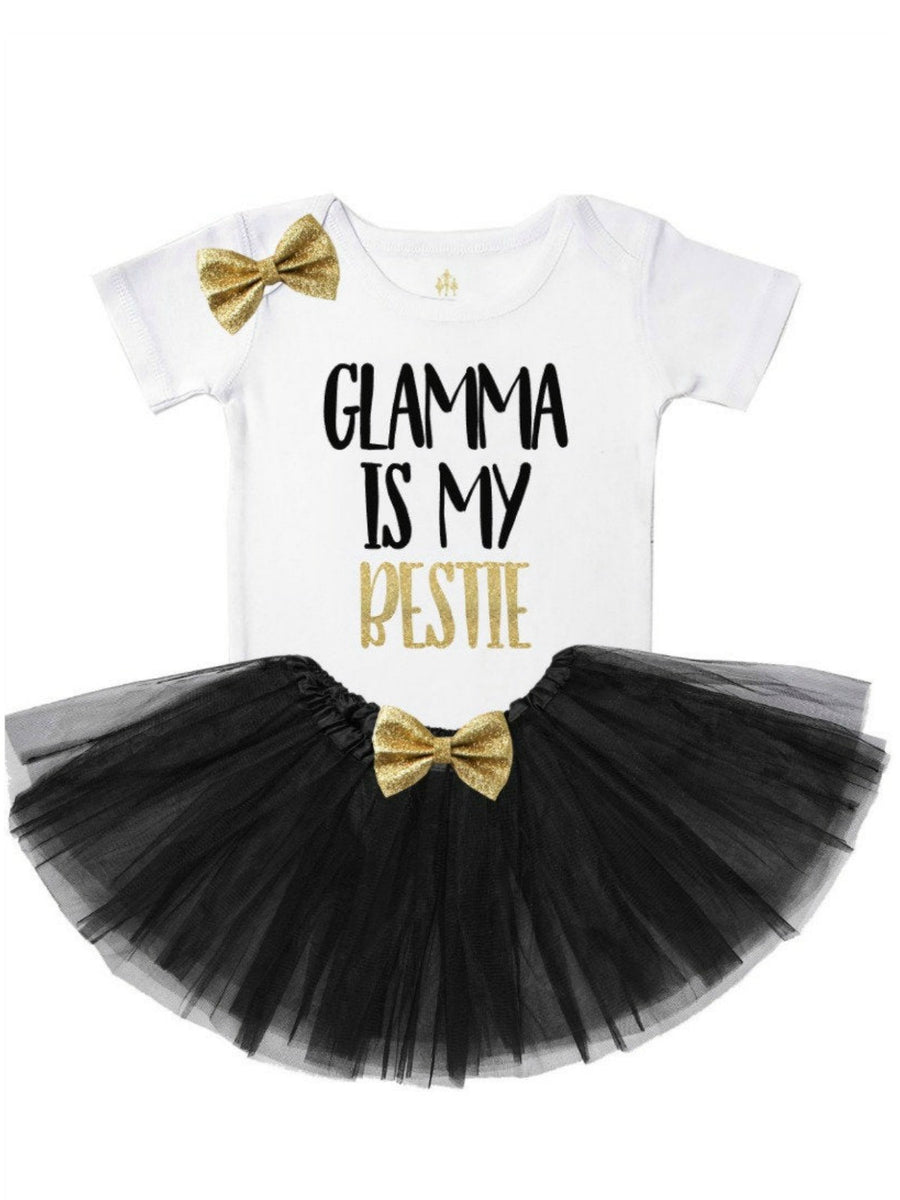 Glamma is My Bestie Tutu Outfit