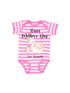happy mother's day mommy and me swan bodysuit
