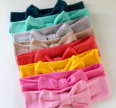 spring bow headbands