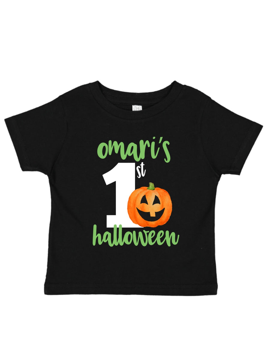 boys first halloween t-shirt