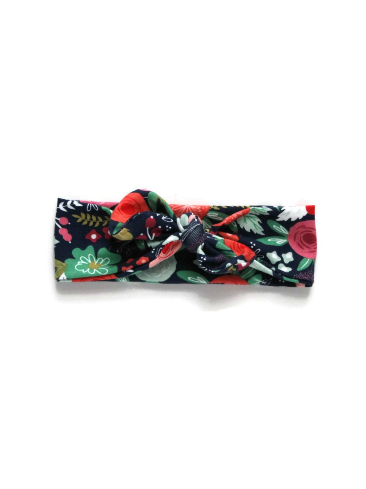 Top Knot - Midnight Floral