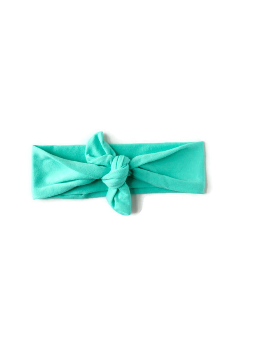 Top Knot - Mint Green