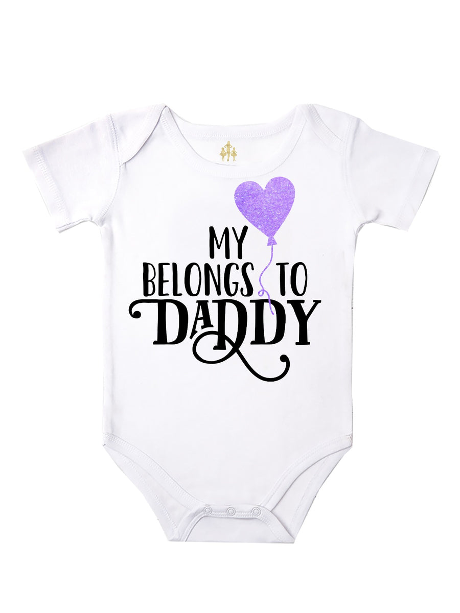 My Heart Belongs To Daddy Bodysuit