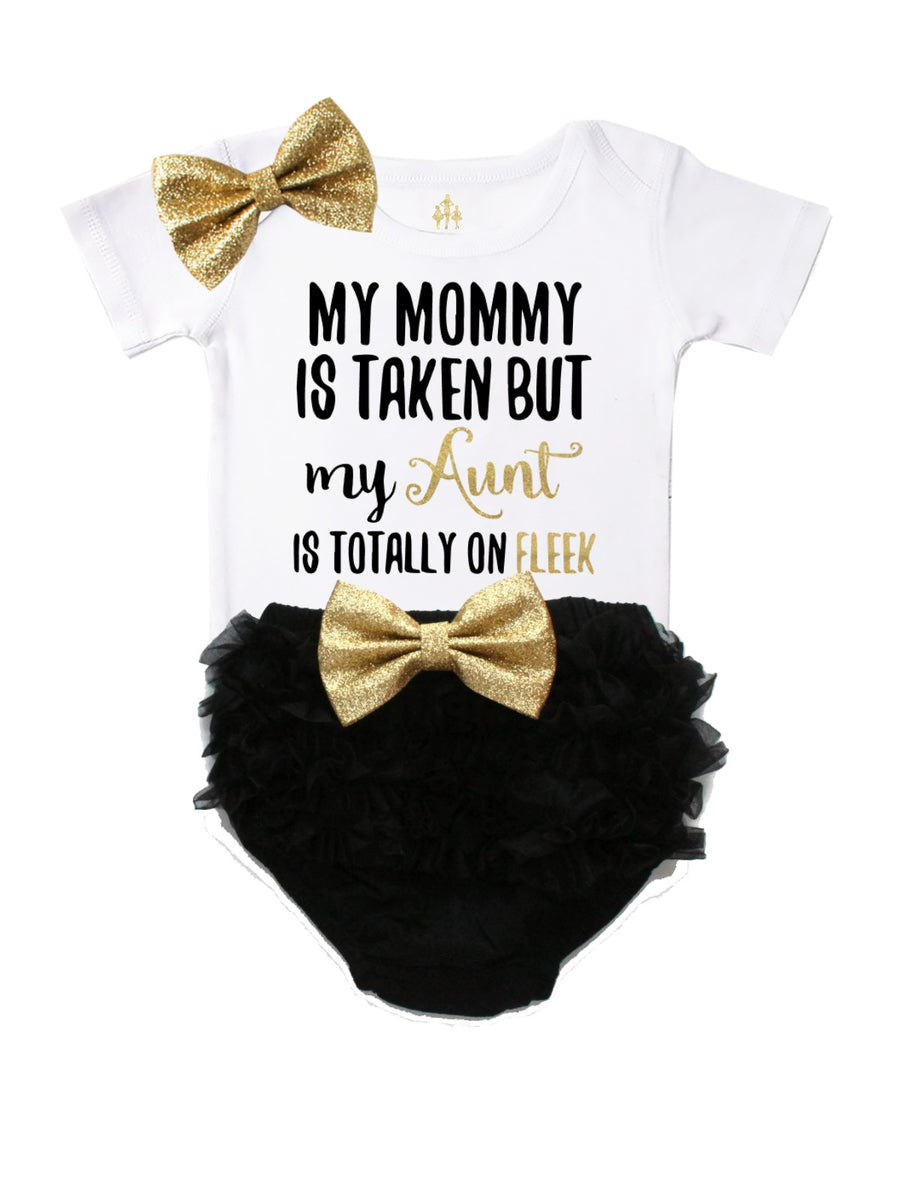 My Mommy Is Taken Diaper Cover Outfit