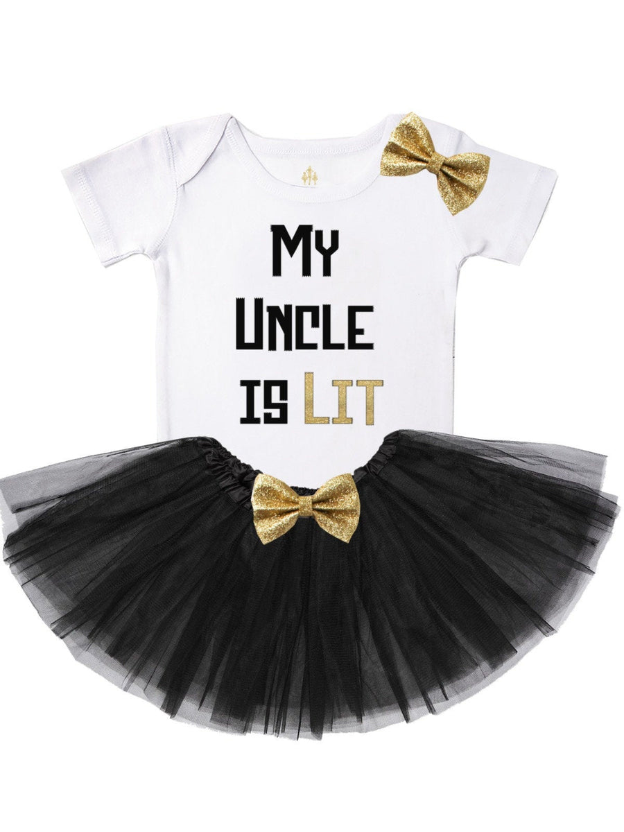 my uncle is lit girls tutu outfit
