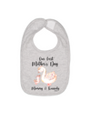 our first mothers day baby bib personalized