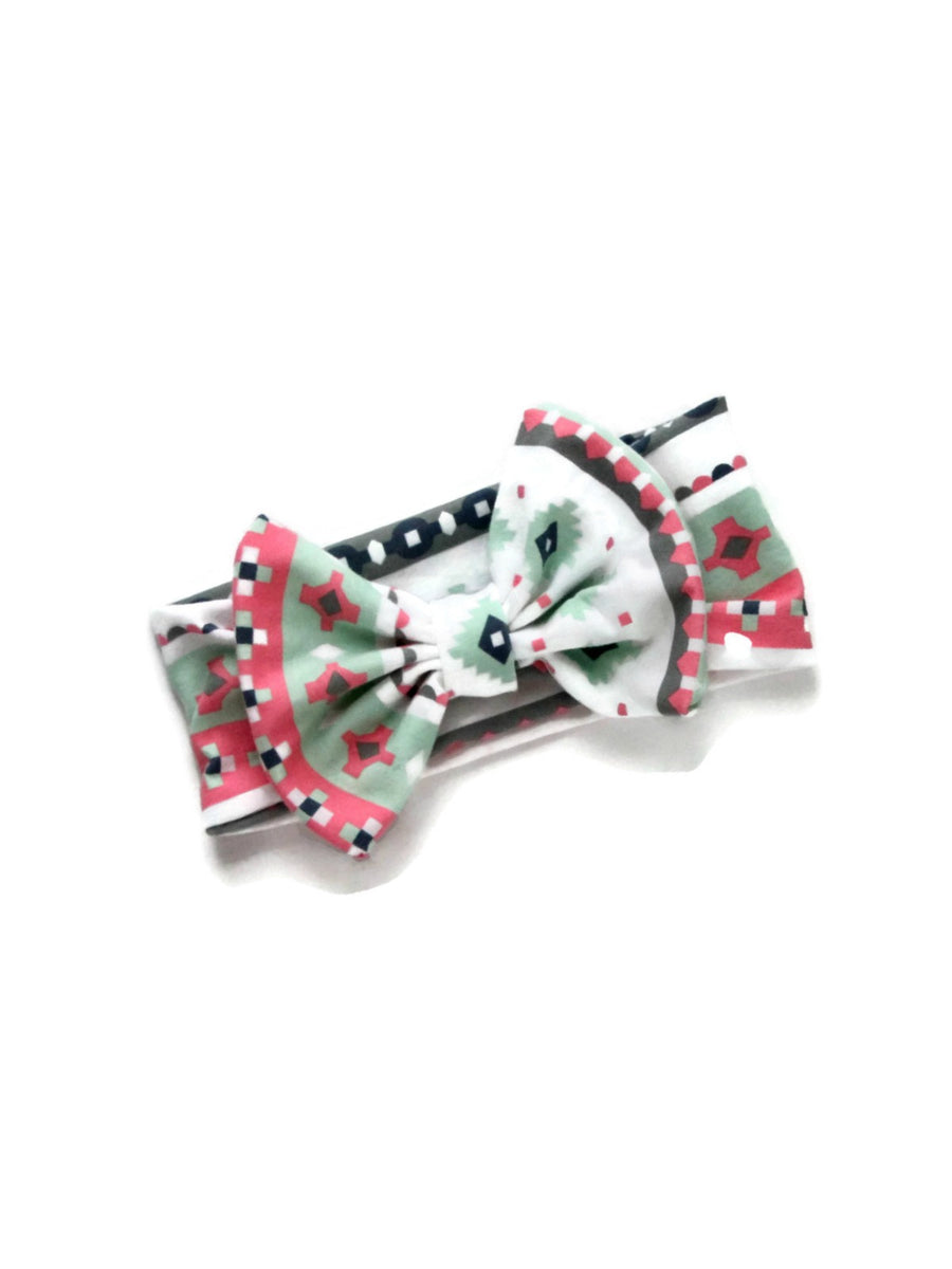 Bow Headband - Pastels & Diamonds