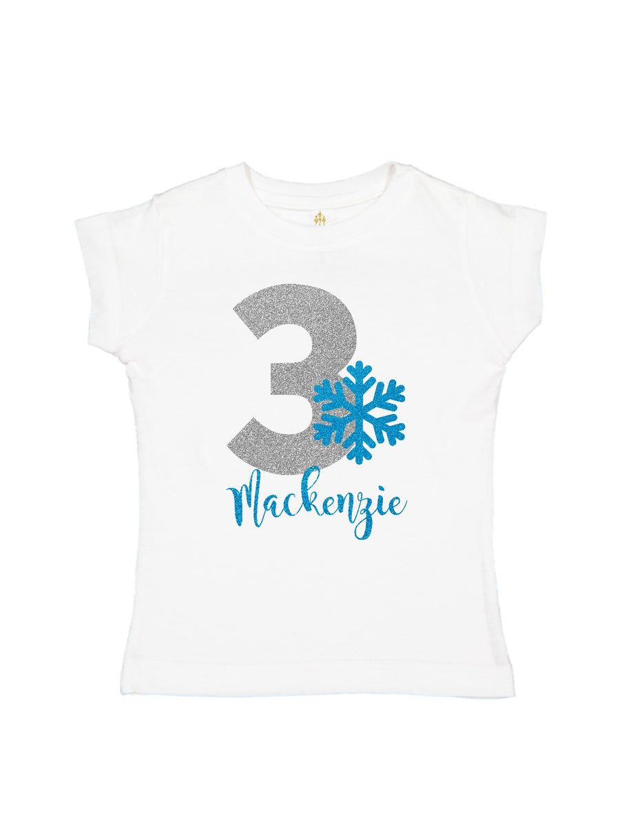 girls personalized silver and blue tutu outfit