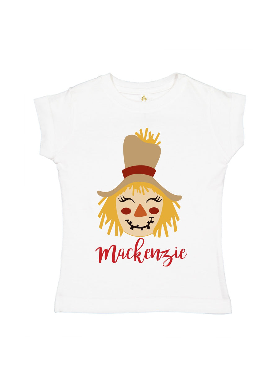 personalized african american scarecrow shirt fall girls