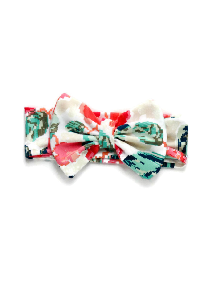 Bow Headband - Pixelated